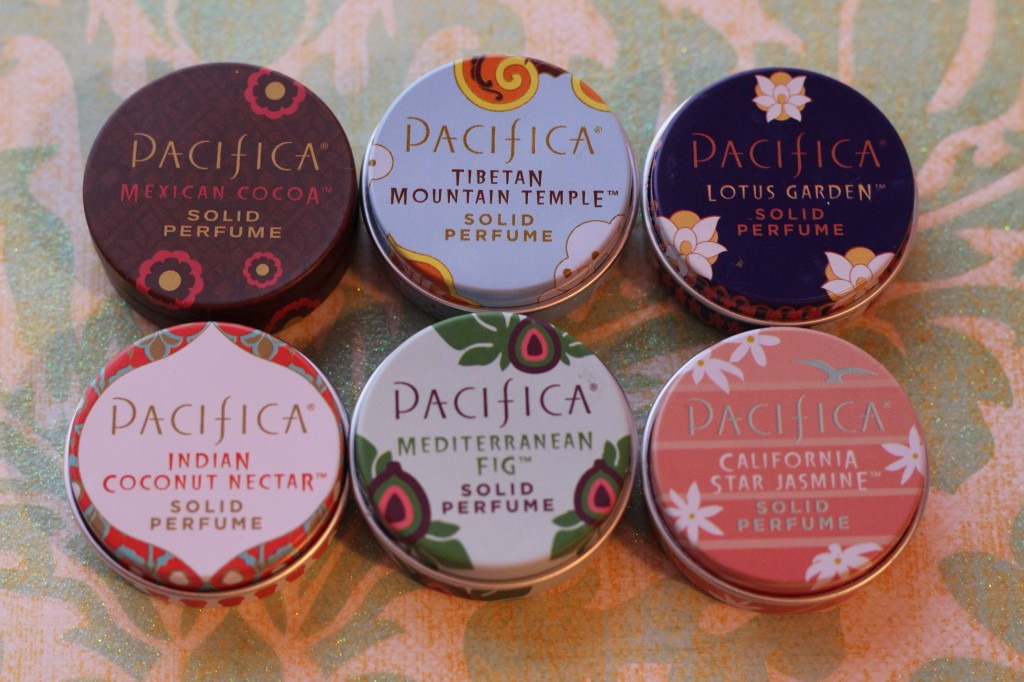 Natural Solid Perfume with Pacifica