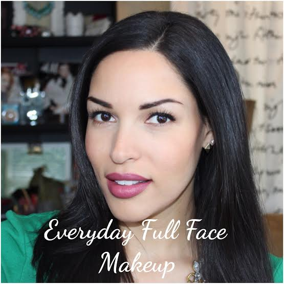 Makeup Tutorial: My Everyday Quick Full Face