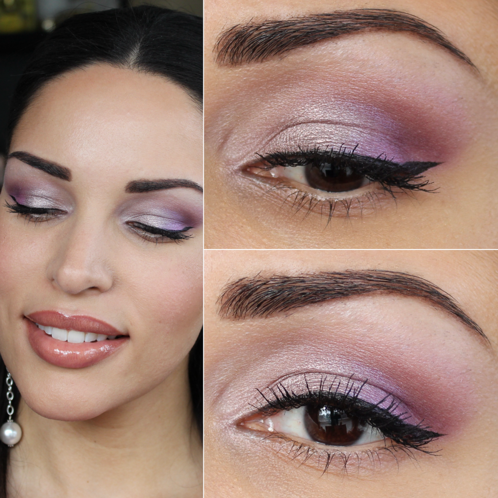 Diy Wedding Makeup Bare Minerals : Makeup Tutorial: Metallic Purple Eyeshadow feat ...