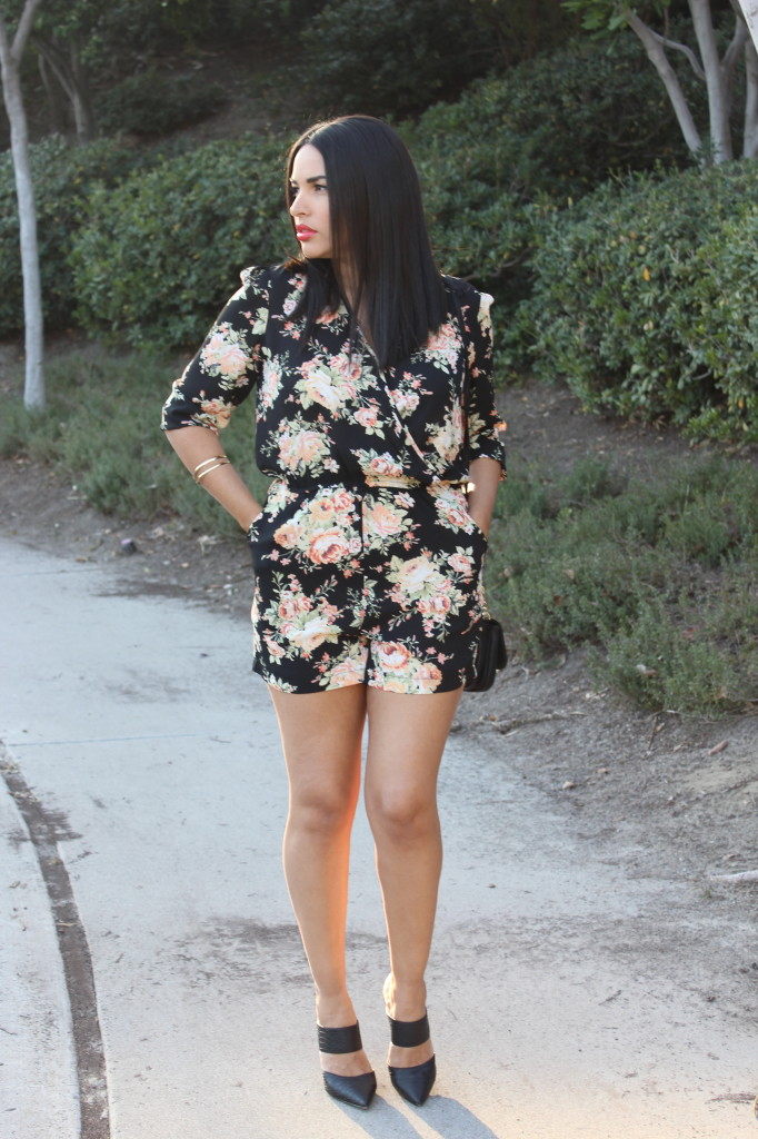 A Lovely Floral Romper