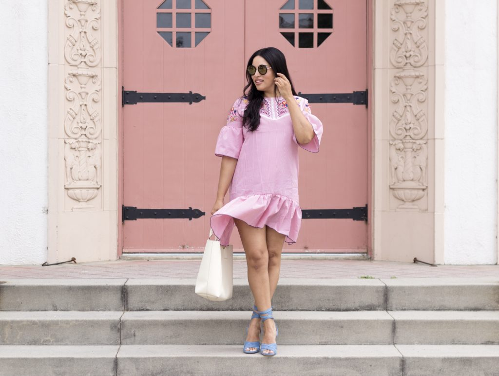 An Embroidered Dress & Sweet Treats