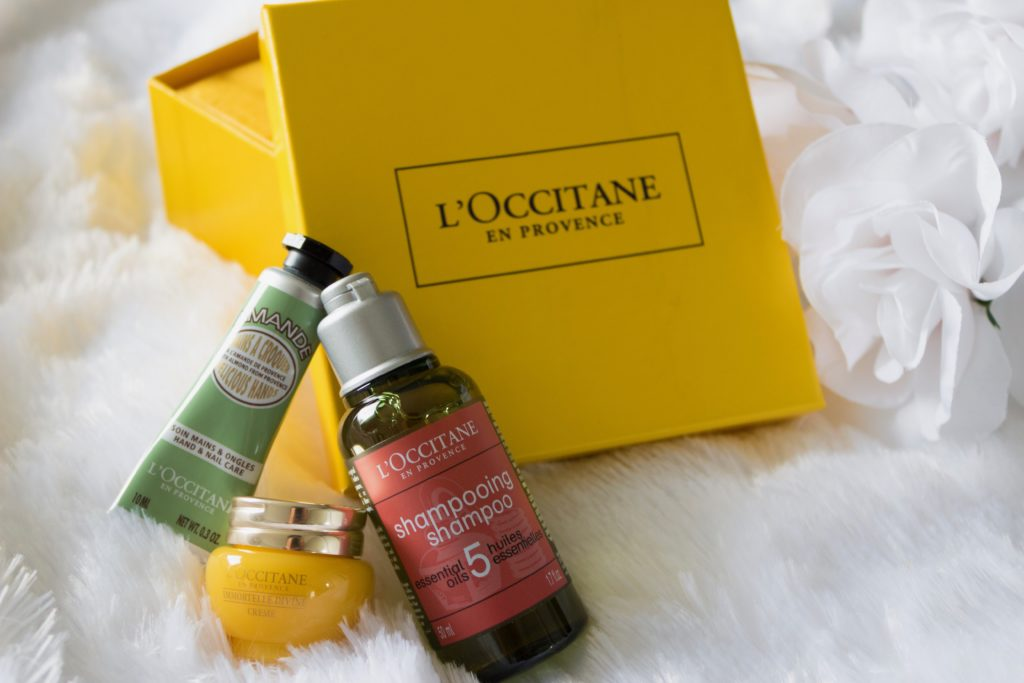 My New Beauty favorites by L'Occitaine