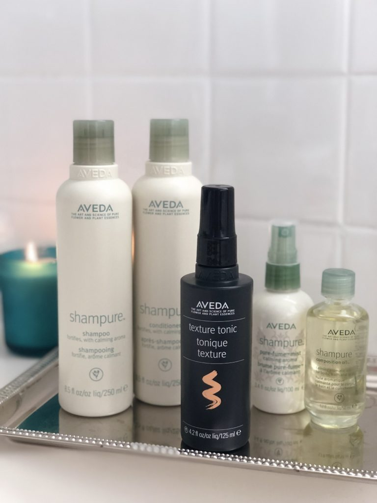 Aveda Shampure Line + New Texture Tonic Review